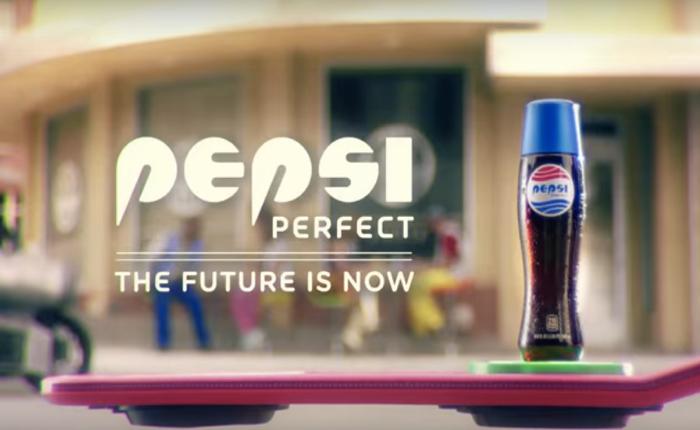 เป๊ปซี่เกาะกระแส ออกขวดเป๊ปซี่แห่งอนาคต ฉลองฉากในหนัง Back to the future!