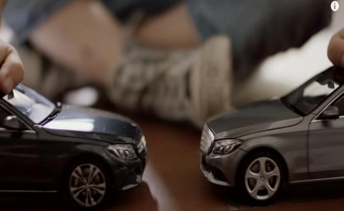 เบนซ์สร้าง Brand Loyalty ได้เจ๋ง ใช้รถของเล่นสอนเด็กแต่เล็กๆว่ารถหรูของเราชนแล้วไม่เยิน!