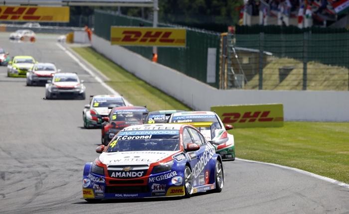 ดีเอชแอลให้บริการลอจิสติกส์ติดขอบสนามการแข่งขัน FIA World Touring Car Championship (WTCC)
