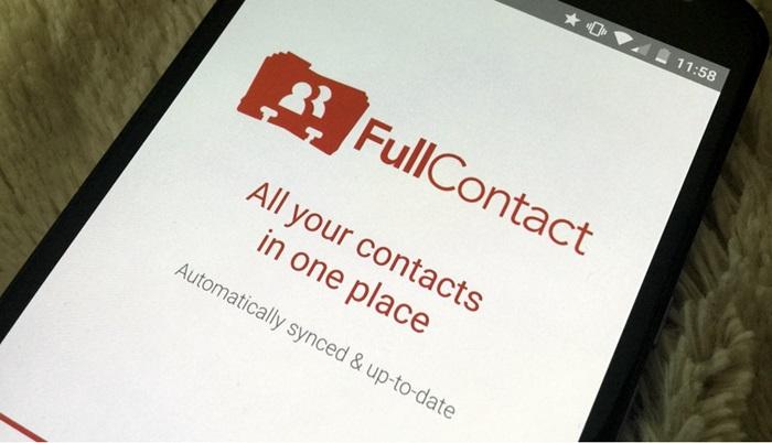 FullContact ช่วยให้ address book ทำงานข้ามแอดเคาท์ได้