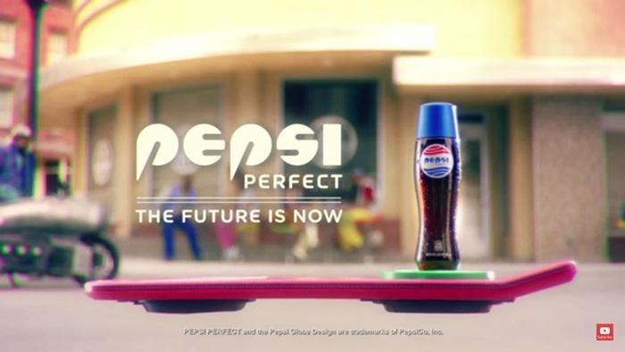 Pepsi Perfect ผลิตภัณฑ์เอาใจแฟนคลับ Back to The Future