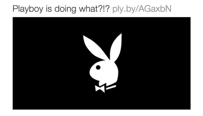 Playboy เลิกถ่ายนู้ดสาวเป็นหน้าปก-เล็งเพิ่มยอดผู้อ่าน