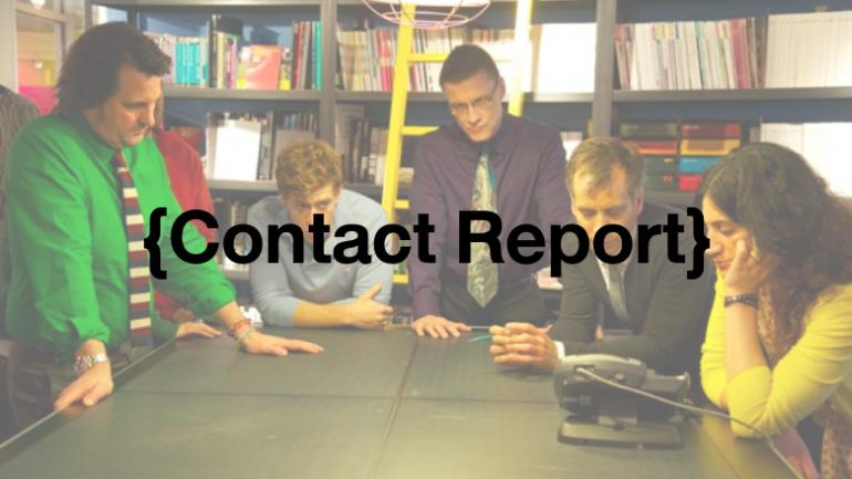 Contact Report เครื่องมือและอาวุธที่จะทำให้งานไม่มีปัญหา