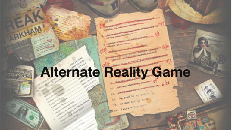 Alternate Reality Game รูปแบบเกมส์ที่ทำให้การตลาดมีคนร่วมนับล้านคน
