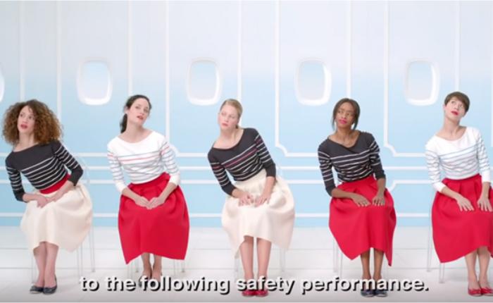 สุดชิค! สายการบิน Air France ทำคลิปแนะนำความปลอดภัยสไตล์แฟชั่นนิสต้า
