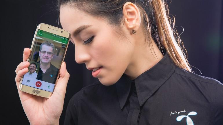ลูกค้าดีแทคใช้ 4G Calling VoLTE โทรหากันเห็นหน้าด้วย