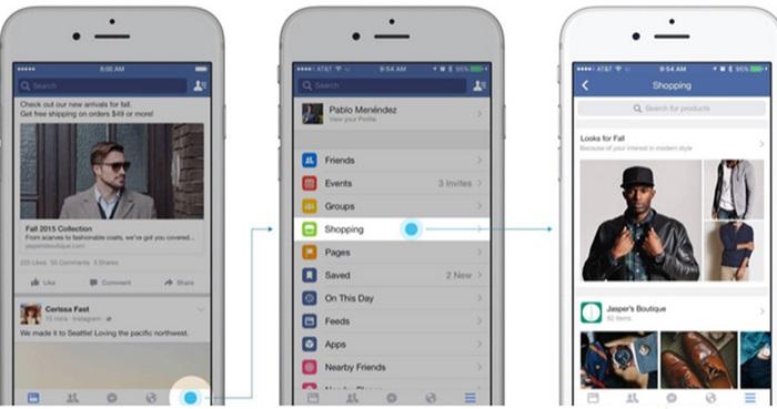 Facebook เพิ่ม shopping section ที่ช่วย e-commerce ขายของได้เป็นระบบมากขึ้น