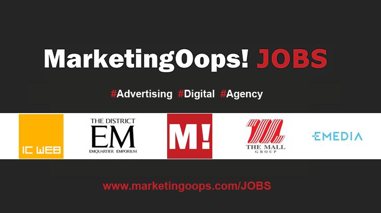 งานล่าสุด จากบริษัทและเอเจนซี่โฆษณาชั้นนำ #Advertising #Digital #JOBS 23 – 30 Oct 2015