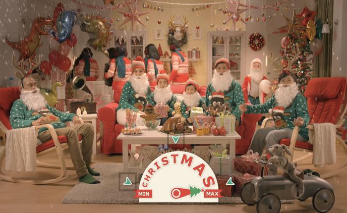 ikea ออกโฆษณา interactive บนยูทูบย้ำว่าไม่ว่าจะจัดงานคริสต์มาสเรียบหรือฟุ้งขนาดไหน ของแตกแต่งทุกชิ้นก็หาได้ที่นี่