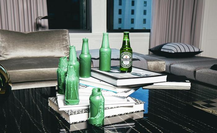 Heineken ส่งเทียนรูปขวดเบียร์เอาใจ Influencer พร้อมบัตรเชิญไปปาร์ตี้