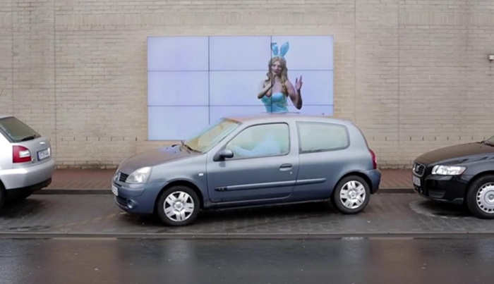 แคมเปญแจ่มช่วยผู้ขับขี่จอดรถปลอดภัยขึ้นด้วยป้าย interactive