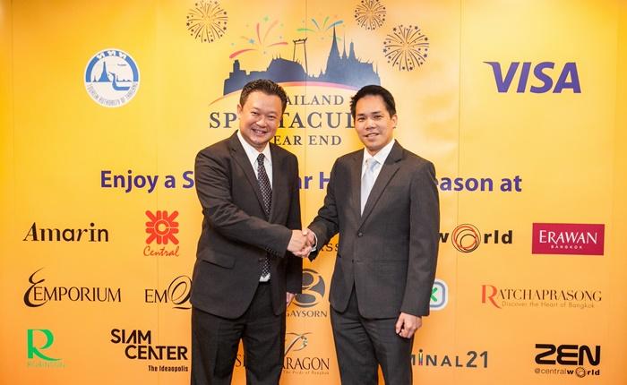 การท่องเที่ยวแห่งประเทศไทยผนึกกำลังวีซ่า เพิ่มศักยภาพและเสริมความแข็งแกร่งการท่องเที่ยวดึงนักเดินทางต่างชาติ