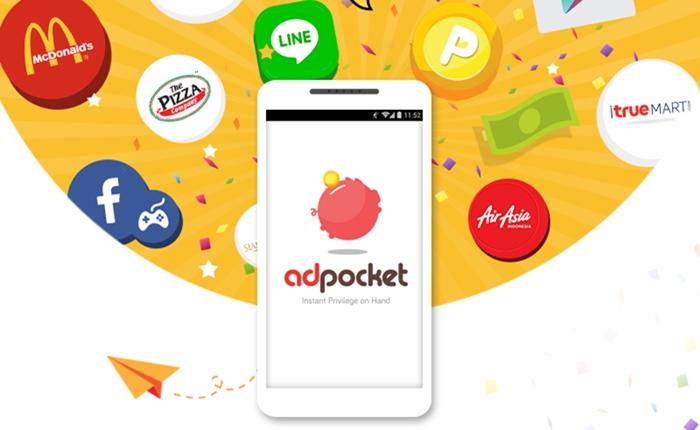 """""""AdPocket"""" แอพฯ ที่จะเปลี่ยนหน้า Lock Screen ให้เป็นสื่อโฆษณา"""