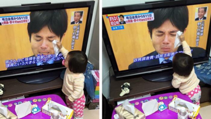 ดราม่านักการเมืองญี่ปุ่นฟูมฟายกลายเป็น meme ให้ชาวโซเชียลล้อกันสนุก