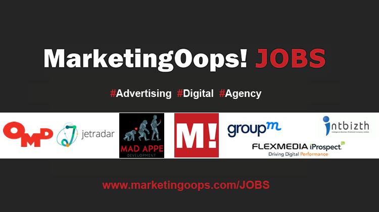 งานล่าสุด จากบริษัทและเอเจนซี่โฆษณาชั้นนำ #Advertising #Digital #JOBS 06 – 13 Nov 2015