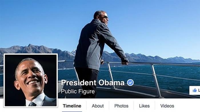 Obama สร้างเพจ Facebook ของตัวเอง (ซะที)