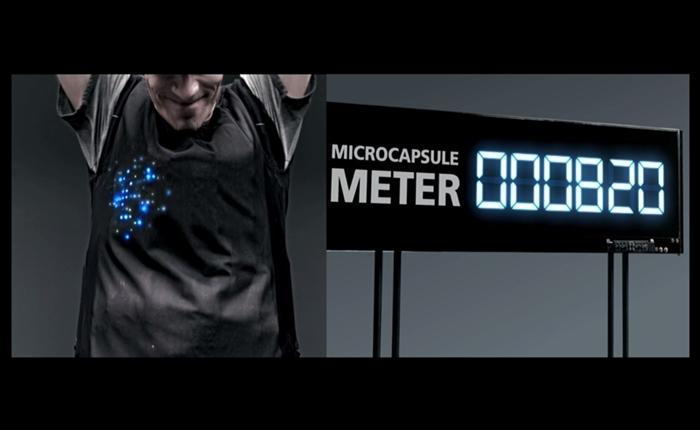 """""""เรโซนา"""" โชว์เทคโนโลยี """"ไมโครแคปซูล"""" ผ่านเสื้อ LED เพิ่มความมั่นใจในทุกความเคลื่อนไหว"""
