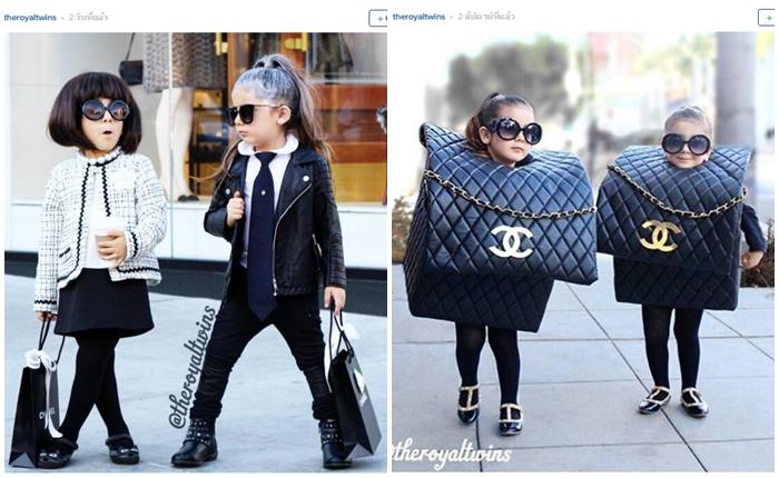 """แฟชั่นนิสต้า 4 ขวบ """"Bella-Chloe"""" คู่แฝดดาวเด่นดวงใหม่ Instagram"""