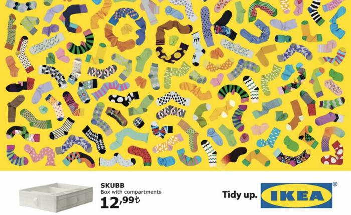 Print Ads น่ารักจาก IKEA เมื่อของบางอย่างคุณมีมากเกินไปก็หาที่เก็บให้เหมาะสมซะ!