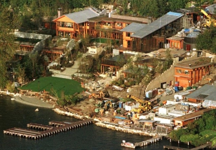 Bill Gates mansion
