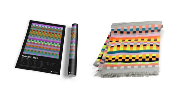 แนวอีก! Dot One ผลิตเครื่องเอาดีเอ็นเอตัวเองมาทำเป็นลายผ้าพันคอ