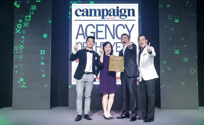 เดนท์สุ มีเดียฯ คว้า 2 รางวัลใหญ่ จากเวที Campaign Asia Pacific's Agency of the Year 2015
