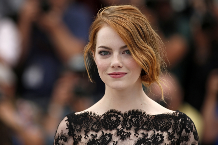 "Cast member Emma Stone poses during a photocall for the film ""Irrational Man"" out of competition at the 68th Cannes Film Festival in Cannes"