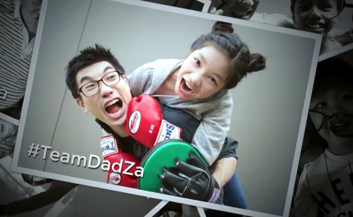 #TeamDadZa ท้าคู่พ่อลูกถ่ายเซลฟี่สุดซ่า ซึ้ง เท่ห์ เฮฮา บ้าพลัง แบบสุดๆ