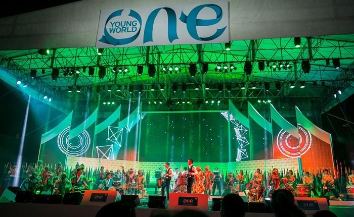 "One Young World Summit 2015 เปิดตัวอย่างยิ่งใหญ่อลังการ ณ กรุงเทพมหานคร รวมพลัง ""คิด เปลี่ยน โลก"""