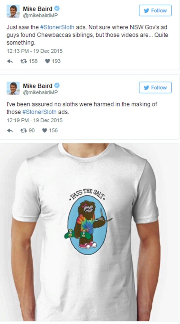Twitter Sloth