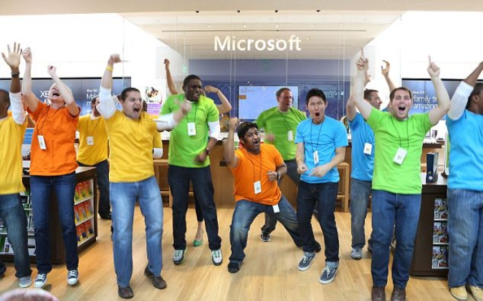 Microsoft Store at The Shops at Prudential Center in Boston