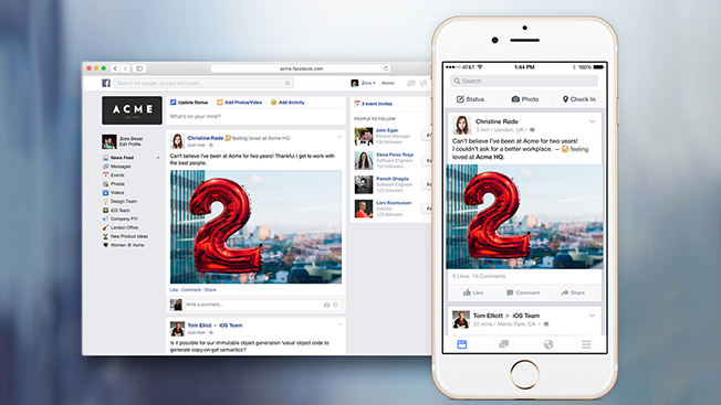 รีวิว Facebook at Work เตรียมต้อนรับเปิดตัวใน 2016