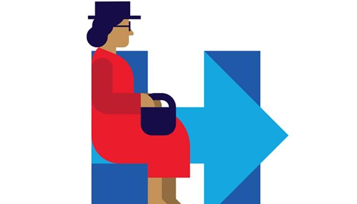 ทำอะไรก็ผิด! มะกันเคือง 'ฮิลารี' จัด 'โรซา ปาร์ค' นั่งท้ายรถเมล์ในโลโก้รำลึก
