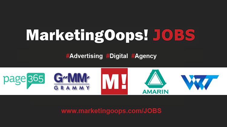 งานล่าสุด จากบริษัทและเอเจนซี่โฆษณาชั้นนำ #Advertising #Digital #JOBS 10 – 18 Dec 2015