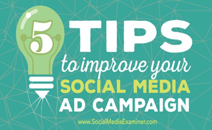 5 ทิปส์ สำหรับการพัฒนาแคมเปญโฆษณาบน Social Media