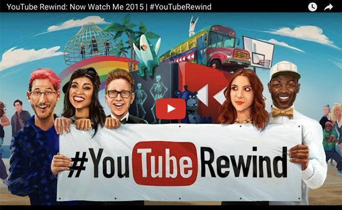 มาตามนัด…YouTube rewind 2015 รวบรวมเทรนด์ดังของปีนี้