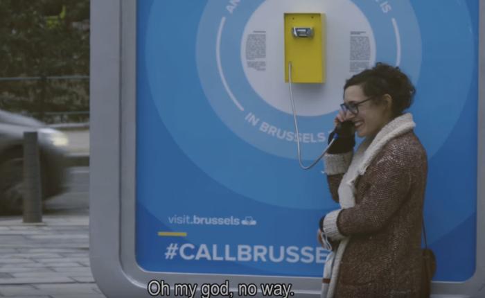 การท่องเที่ยวบรัสเซลส์ทำเก๋ชวนคนต่างชาติโทรเช็คข่าวหลังก่อการร้าย เพื่อยันพวกเรายังแฮปปี้ ฉะนั้นคุณรีบๆมาเที่ยว
