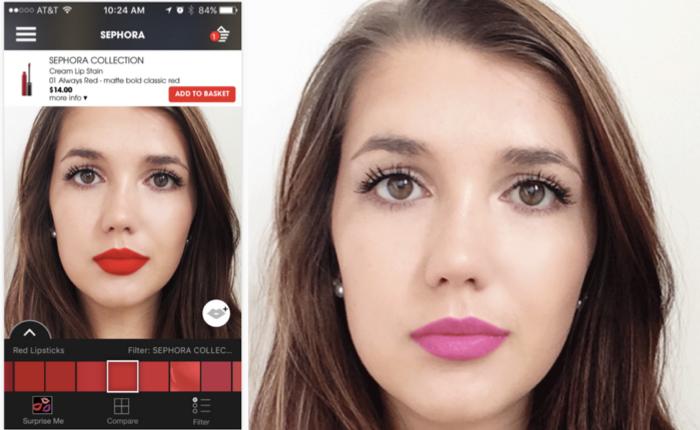 Sephora ส่งแอปฯไฮเทคเทคนิค AR ให้สาวๆ ลองลิปติกดิจิตอลผ่านภาพเซลฟี่ตัวเอง