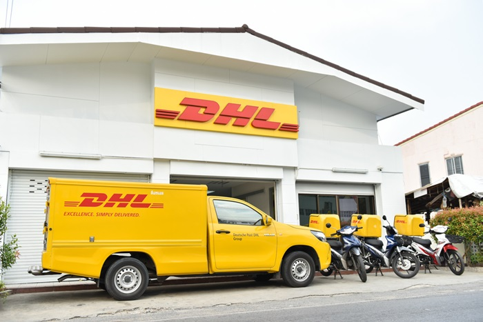 5. One of DHL eCommerce Thailand depots
