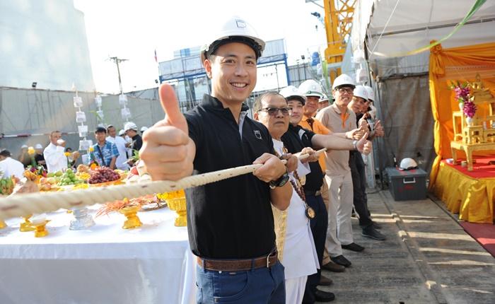 ไอดีโอ คิว สยาม-ราชเทวี ลุยงานก่อสร้าง