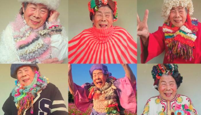 คุณยายญี่ปุ่นวัย 93 กลายเป็นเซเลบบน IG-หลานสาวถักเสื้อให้สวมถ่ายแบบ
