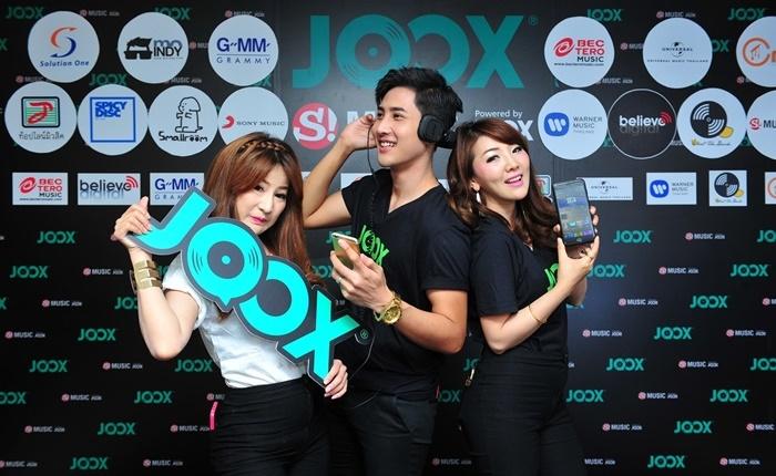 JOOX แอปพลิเคชั่น เปิดโลกดนตรีในไทย ร่วมมือกับกว่า 100 มิวสิคพาร์ทเนอร์ทั่วโลก