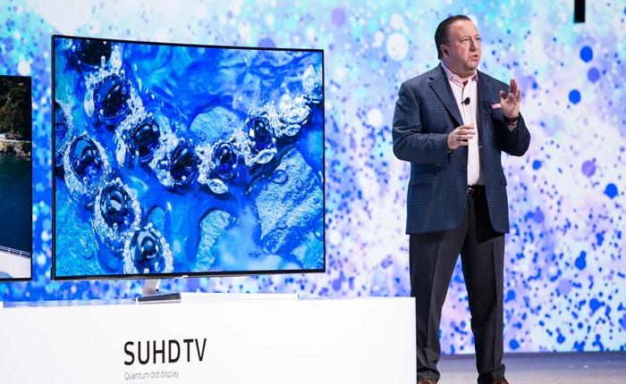 """ซัมซุง เปิดตัวทีวียุคใหม่  """"SUHD TV"""" ปี 2016 ผสานเทคโนโลยี IoT"""