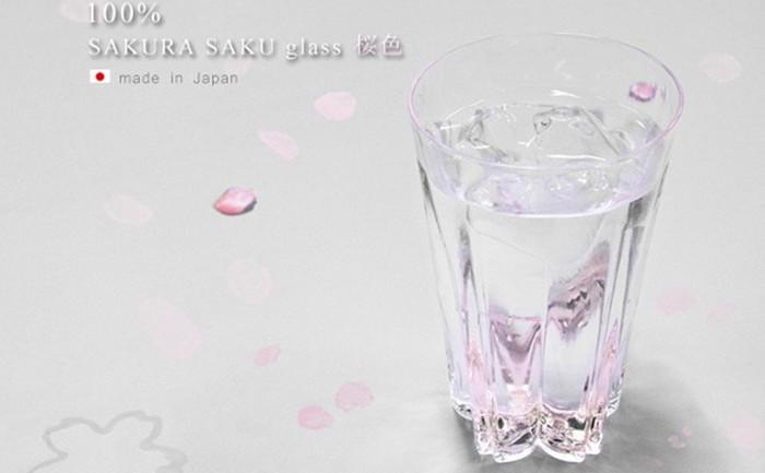 ญี่ปุ่นคิดแก้วน้ำทิ้งลายกลีบซากูระที่ก้นแก้ว-ฉลองใกล้ถึงฤดูใบไม้ผลิ