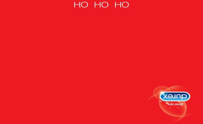 Print Ad ใหม่จากดูเร็กซ์เปลี่ยนซีนอบอุ่นของซานต้าให้กลายเป็นซีนสุดเร่าร้อนของคู่รักได้…แค่กลับหัวดูโฆษณา!