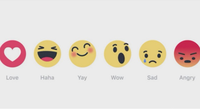 Facebook เตรียมเพิ่ม 6 emoticon-ตัวเลือกแทนปุ่ม Like