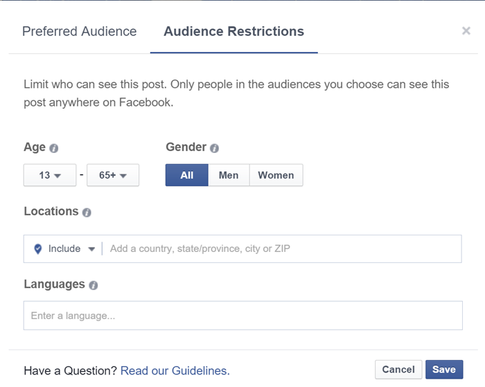 fb-audience-optimization-restrictions