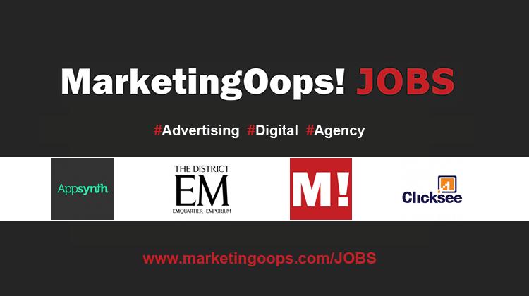 งานล่าสุด จากบริษัทและเอเจนซี่โฆษณาชั้นนำ #Advertising #Digital #JOBS 04 – 08 Jan 2016