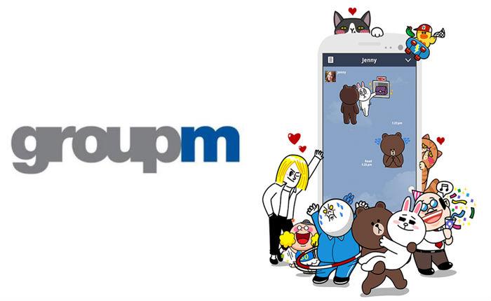 GroupM ร่วมเป็นพาร์ทเนอร์กับ Line ช่วยให้แบรนด์เข้าถึงฐาน user มากถึง 212 ล้านคน
