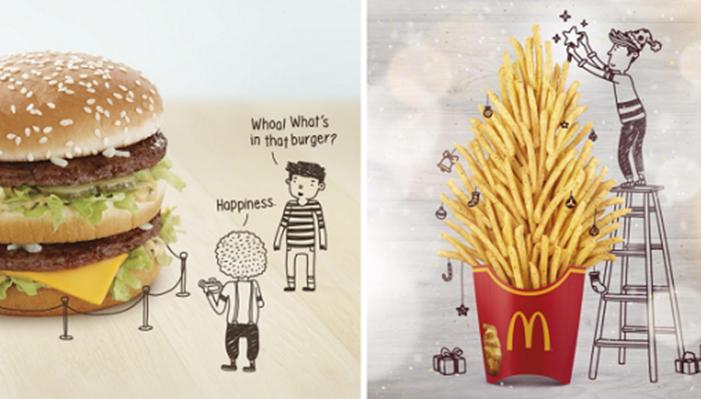 McDonald's Singapore ส่งภาพน่ารักมัดใจลูกค้ารับปีใหม่
